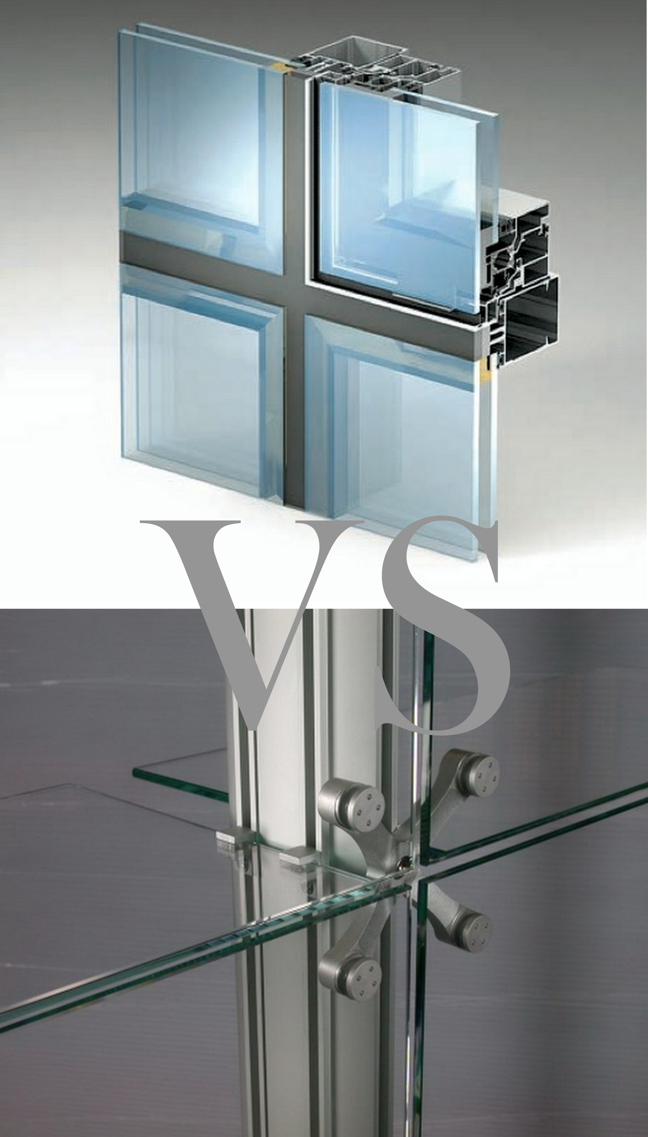 Выбор типа остекления фасада.
